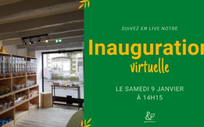 inauguration virtuelle en janvier 2021